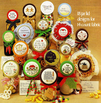 CROSS STITCH GIFTS JARS AND RECIPES - $3.00