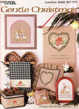 Cross Stitch Gentle Christmas By Family Line - $2.25