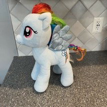 Build A Bear My Little Pony RAINBOW DASH Plush Hero Unicorn Stuffed CUTE - $9.97