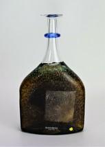 Kosta Boda Satellite Bottle Bertil Vallien Vase Signed Cola - $166.25