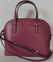 New Kate Spade New York Carli Patterson Drive Pebble Leather handbag Cinnabar - $124.00