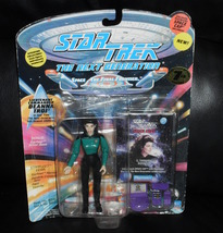 1994 Star Trek The Next Generation Lt. Commander Deanna Troi Figure In Package - $19.99