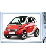 KEYCHAIN 06~07~08 RED SMART FORTWO PASSION COUPE KEYTAG - $9.95