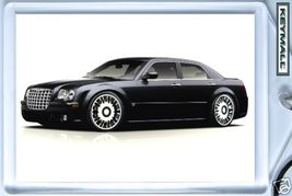 KEY CHAIN 007/2008/2009/2010 BLACK CHRYSLER 300C KEYTAG - $9.95