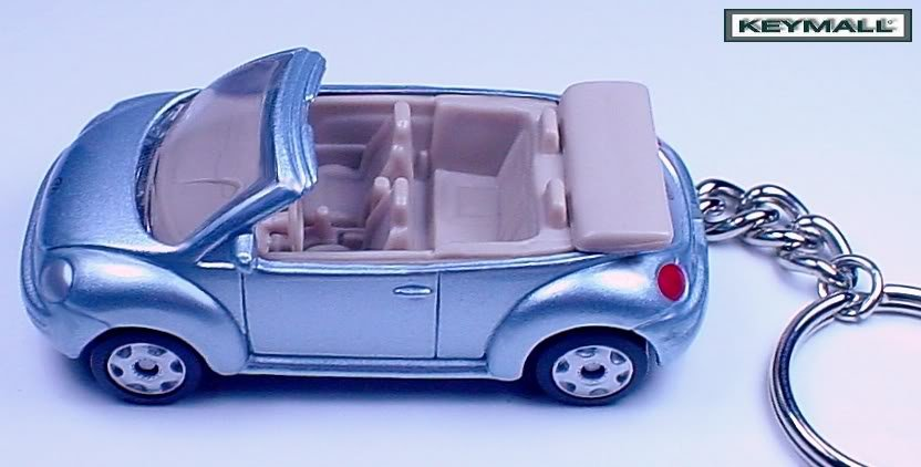 porte cle vw new beetle volkswagen cox cabriolet bleu blue. Black Bedroom Furniture Sets. Home Design Ideas