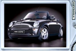 Porte Cle BMW Mini Cooper CABRIOLET Noir/Black new Key chain - $9.95