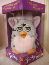 Original 1998 FURBY Gray Leopard Furby Green Eyes Model 70-800 NRFB NEW - $59.99