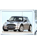 Porte Cle MINI COOPER Gris Clair/Silver/Gray New Key chain - $9.95