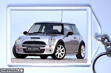 Porte Cle MINI COOPER Gris Clair/Silver/Gray New Key chain