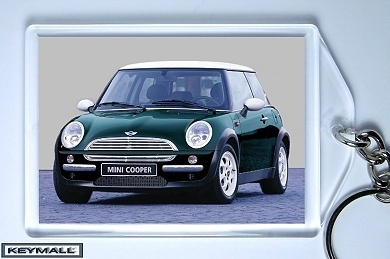 porte cle new bmw mini cooper vert blanc green key chain keychains. Black Bedroom Furniture Sets. Home Design Ideas