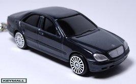 Porte clé MERCEDES S400 S430 400/500 S Classe Gris/Noir - $24.98