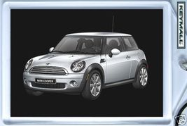 New Porte Cle MINI COOPER ONE Gris/Argent/Silver Key chain - $9.95