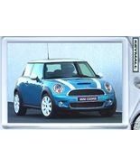 Porte Cle New BMW MINI COOPER S Bleu/Blanche Blue Key chain - $9.95