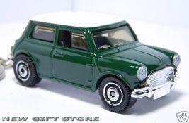 Porte Clé Mini Cooper Vert/blanc Austin Morris Leyland - $29.98