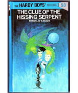 Hardy Boys Mystery Book 53 The Clue of the Hiss... - $3.58