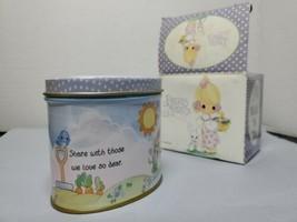 Precious Moments Wick N Tin NIB Vanilla Scented Candle Collectible G4655 - $34.65