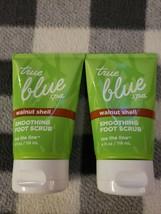 Bath & Body Works BBW True Blue Spa Walnut Shell Smoothing Foot Scrub 2 ... - £23.27 GBP