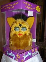 Original 1999 FURBY Lizard Furby Green Eyes Model 70-800 NRFB NEW - $59.99