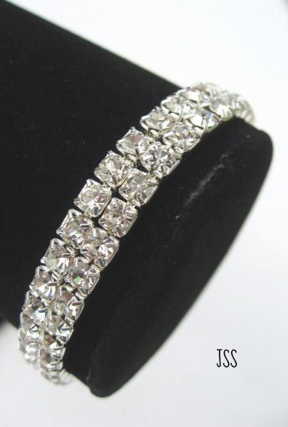 Jss clear crystal bracelet 1