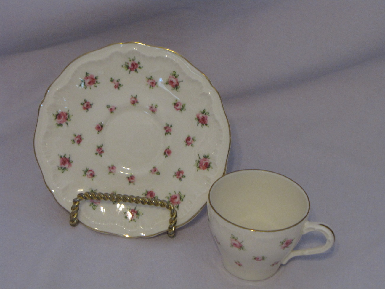 Theodore Haviland New York Georgia Demitasse Cup and Saucer - $20.00