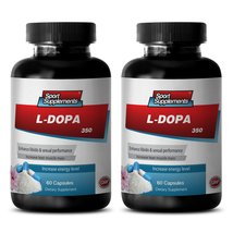 Relaxed Mood - L-DOPA (Mucuna Pruriens Extract) 350 Mg - Mucuna Extract Powder - - $25.89