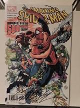 The Amazing Spider-Man #500 (Dec 2003, Marvel) signed by J. Scott Campbe... - $95.73