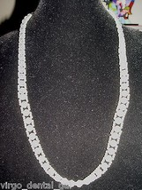 Vintage Faux Pearl and Clear Bead Beaded Colored Color Plastic Necklace ... - $7.43