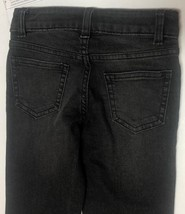 Wonder Nation Boy's Jeans Skinny Adj Waist Black Kid's Sz 6 image 4