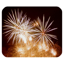 Mouse Pad Firework Beautiful Fire And Light At The Night For Fantasy Anime Game - $6.00