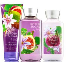 Bath & Body Works Brown Sugar & Fig Trinity Gift Set - $40.95
