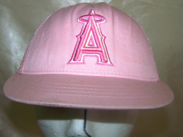Pink Nike Los Angeles Angles Trucker Snapback hat  - $9.99