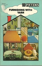 Patons Beehive Furnishing With Yarn Pattern Book 409 - $6.99