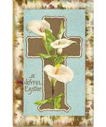 A Joyful Easter Vintage Post Card - $3.00