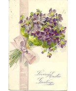 Loving Easter Greetings Tuck and Son 1908 Vintage Post Card - $3.00