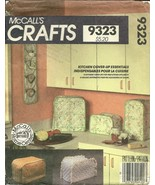 McCall's Sewing Pattern 9323 Kitchen Cover Up Essentials New Uncut - $9.98