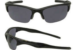 Oakley Gafas de Sol si Medio Chaqueta 2.0 Mate Negro W/ Gris OO9144-11 - $176.35