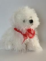 "TY Classics Tysilk Plush White Terrier Dog Muppet 2006 Westie 10"" Stuffe... - $10.88"