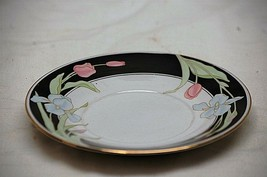 "Classic Vanessa Fine China by Fairfield 5-3/4"" Saucer Plate Black Border... - $8.90"