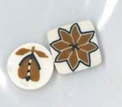 BUTTON PACK JABC 9806 for His & Hers Thanksgiving Stockings Just Another Button - $3.60