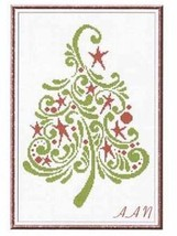 Special Christmas Tree 2013 cross stitch chart Alessandra Adelaide Needlework - $13.50