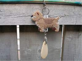 Glen of Imaal Terrier dog crate tag or home decor, hang anywhere handmad... - $14.00