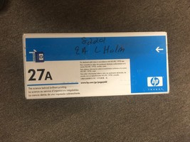 HP C4127A 27A Black Toner Cartridge - $49.99