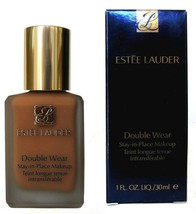 ESTEE LAUDER 6C2 Rich Mahogany A8 Double Wear Foundation Stay in Place  - $27.12