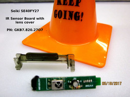 SEIKI SE40FY27  IR Sensor Board PN: GKB7.820.2707 with lens cover - $12.20