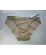 Donna Karan Beige Mesh and Lace Bikini Size Small - $6.99