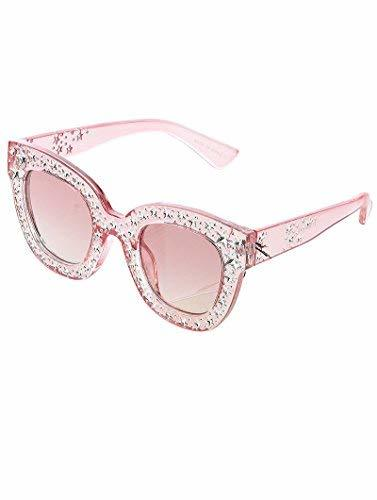 Trendy Star Studded Sunglasses (Pink)