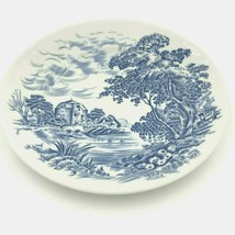 """Wedgwood Countryside Bread and Butter Plate Dessert 5-7/8"""" Blue Small VGUC DH3 - $9.95"""