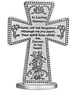 Cathedral Art SQP108 In Loving Memory Message Cross, 3-Inch - $19.18