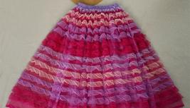 Gray Midi Tulle Skirt Tiered Tutu Skirt Ballerina Tulle Skirt image 7