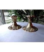 Godinger Silverplate Set of 2 Candlestick Holders - $9.90